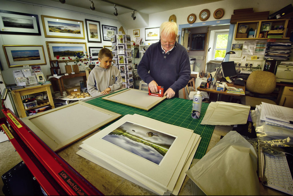 Gallery - Ian at work